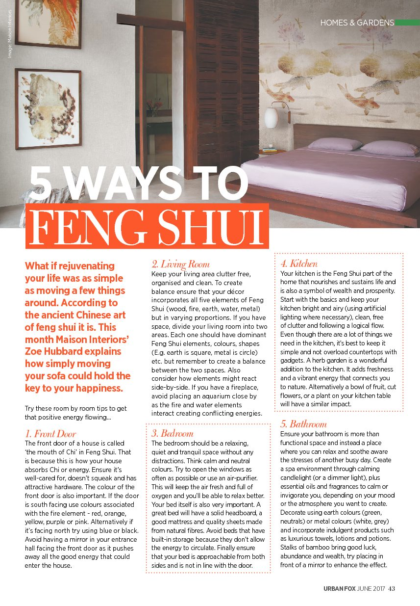five-ways-to-feng-shui